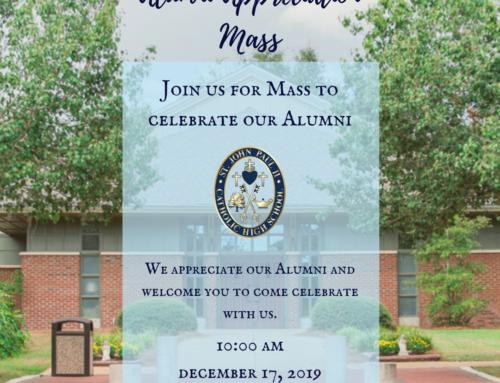 Alumni Appreciation Mass 12.17.19
