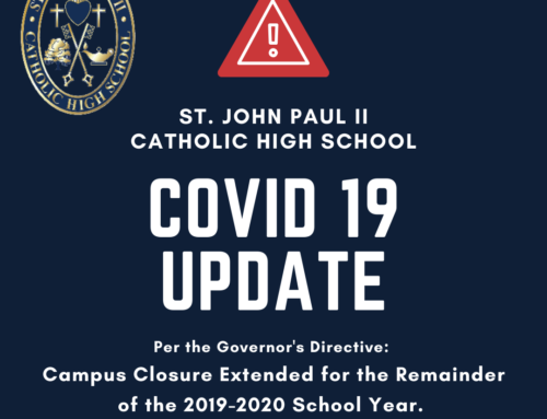 Campus Closure Update – Campus to remain closed for duration of 2019-2020 school year.