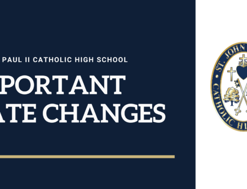 2020-2021 School Year Date Changes