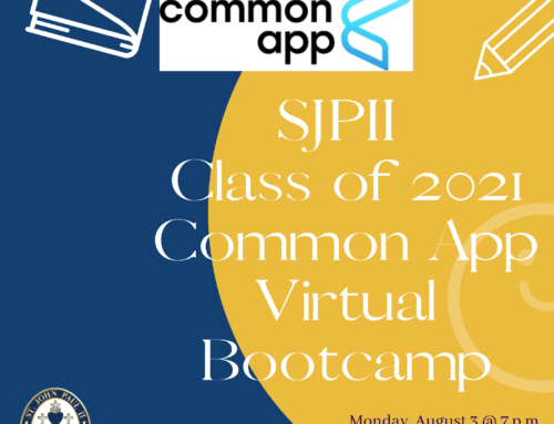 Common APP Virtual Class of 2021